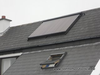 Moloney Solar Thermal complete